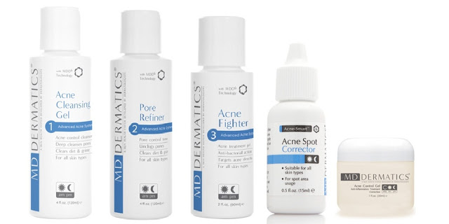 MD Dermatics Advanced Acne System